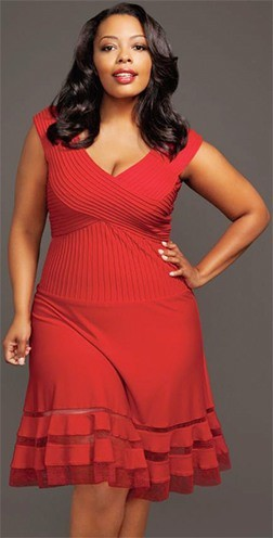 Red Plus Size Party Dresses