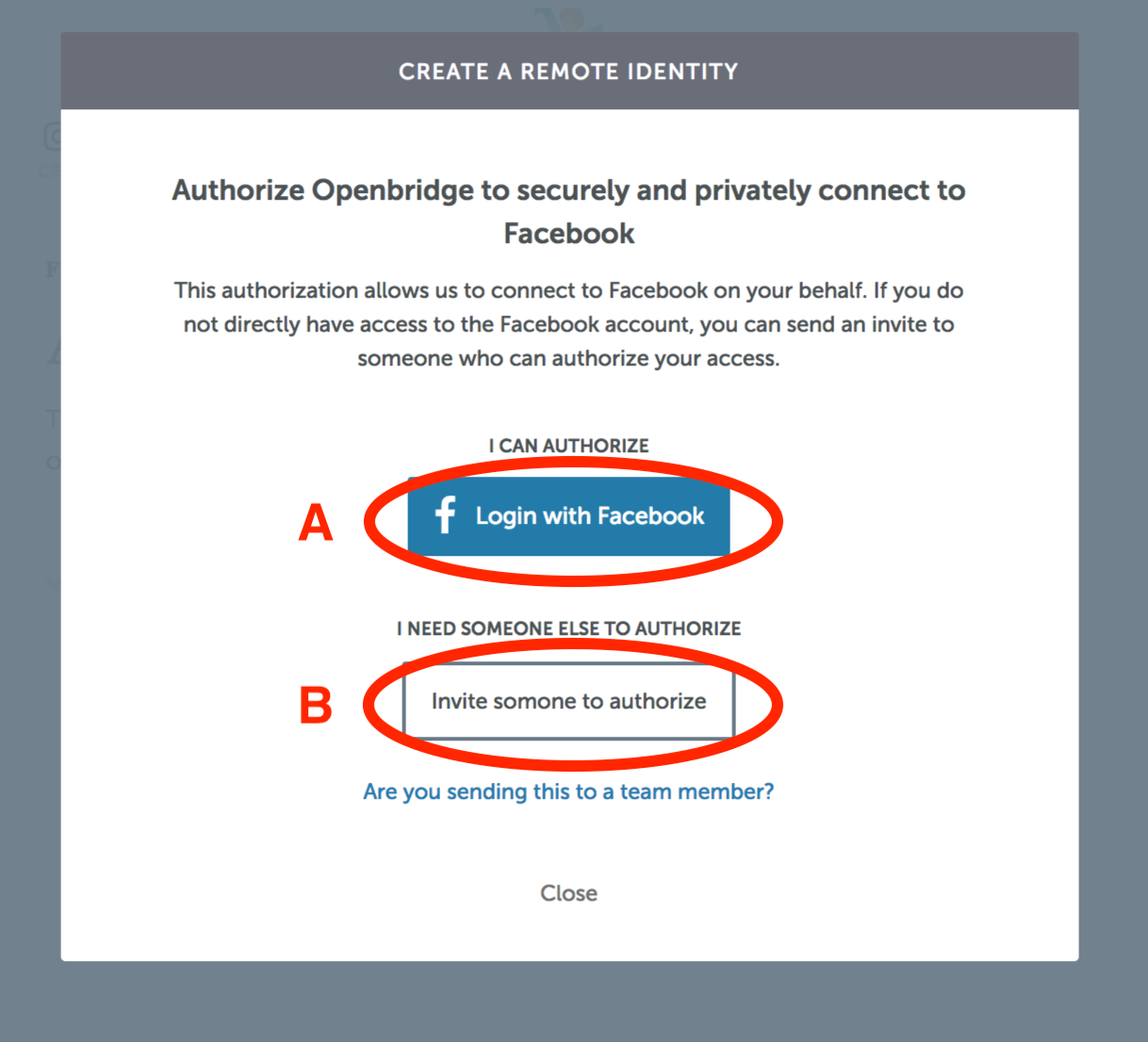 Has A Facebook User Account Authorized To Set This Up For You B Guide We Are Uming Select Path Click Login With