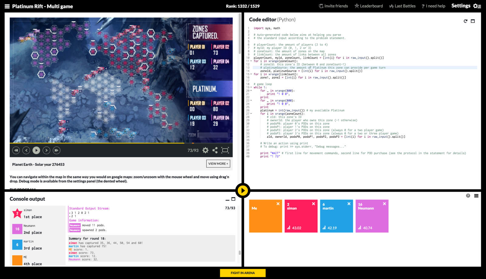 Editors pick popular on web pictures - Codingame Is A Bit Different From The Other Websites Because Instead Of Simply Solving Coding Challenges In An Editor You Actually Take Part In Writing The