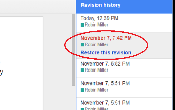 Google Docs Revision History Can Save Your Tail Newco Shift Medium