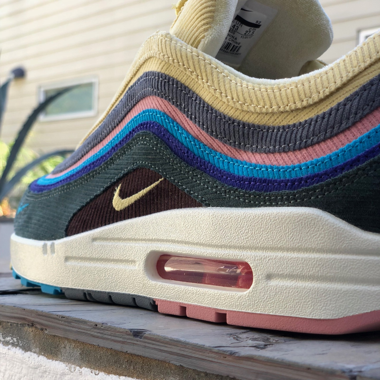 """eb42d62ccd In Depth Sneaker Review: Nike Air Max 1/97 """"Sean Wotherspoon"""""""
