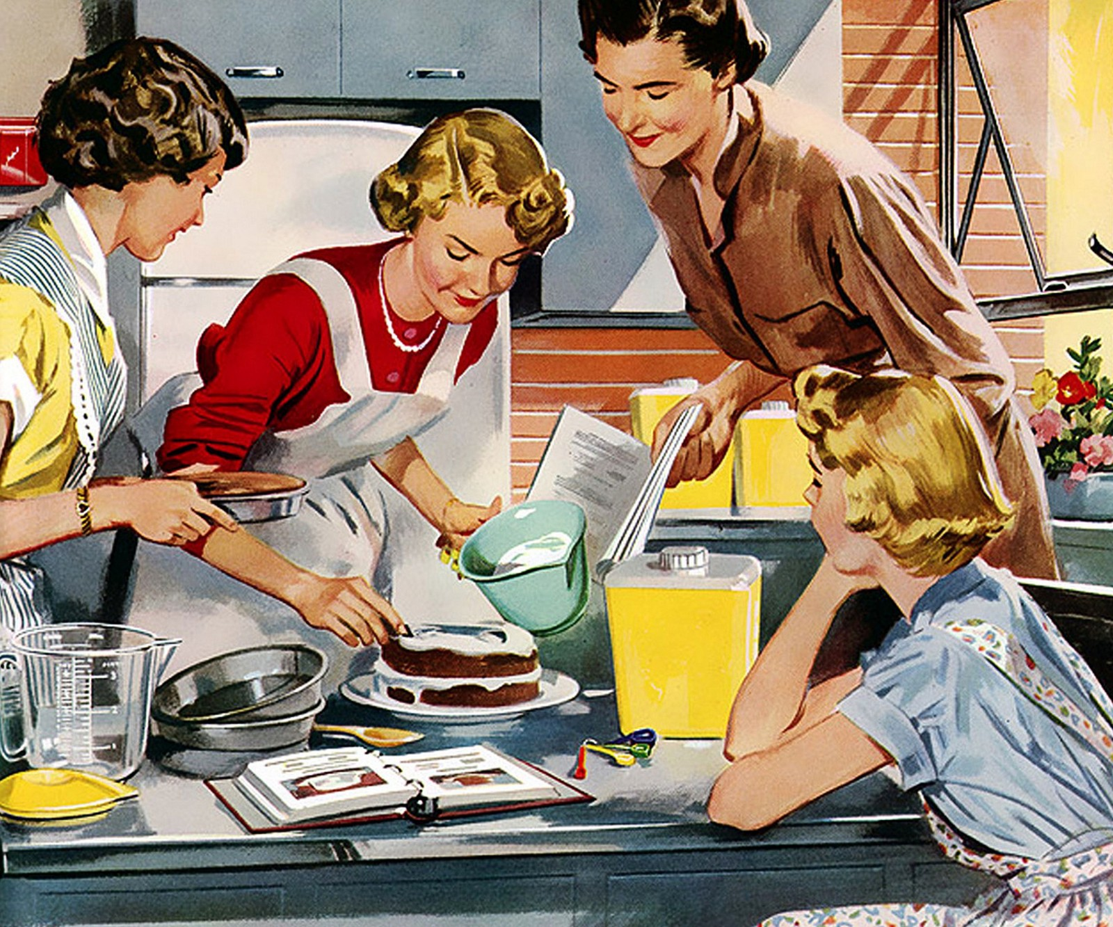 A Womans Place Is In The Kitchen Yes I Am Feminist