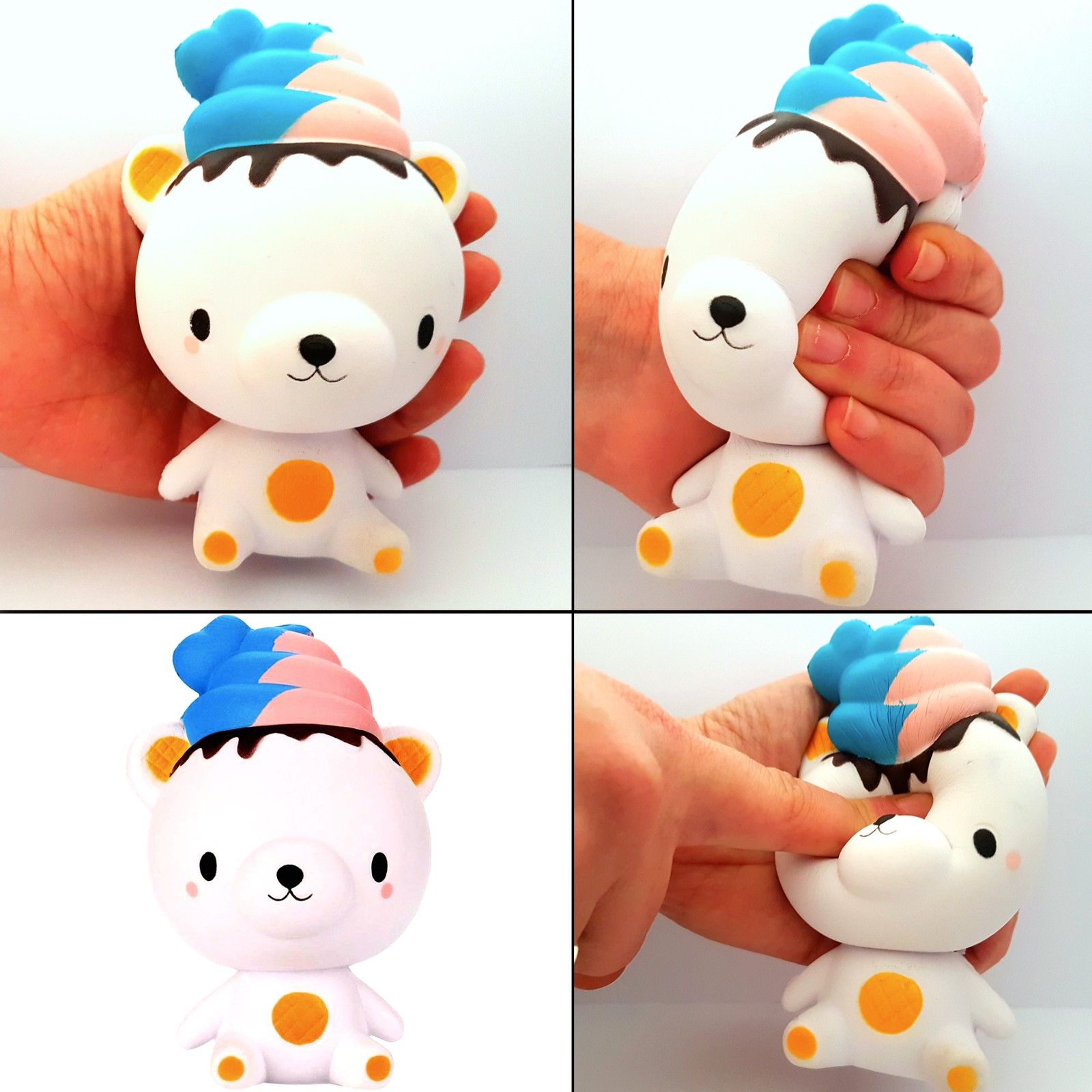 Squishy Bear Toys : Slow Rising Jumbo Squishies Animals Squishies Cute Bear Bird Whale Squeeze Cream Scented Toys?