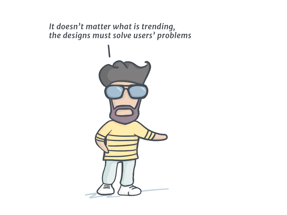 A Good Designer Focuses On Creating The Most Usable Designs Bad Following Latest Tools