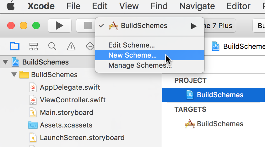 Some Practical Uses for Xcode Build Schemes and Build Configurations (Swift)