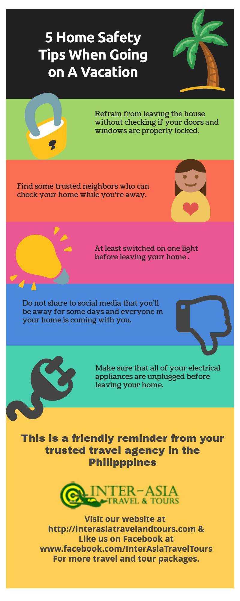 5 Home Safety Tips When Going On A Vacation Inter Asia