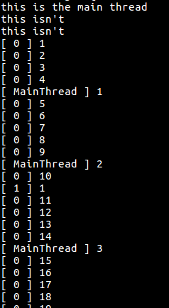 The output of the above piece of code