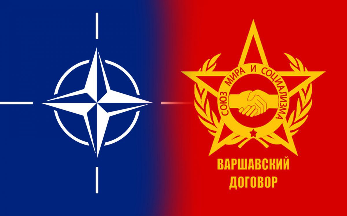 Image result for nato vs. warsaw pact