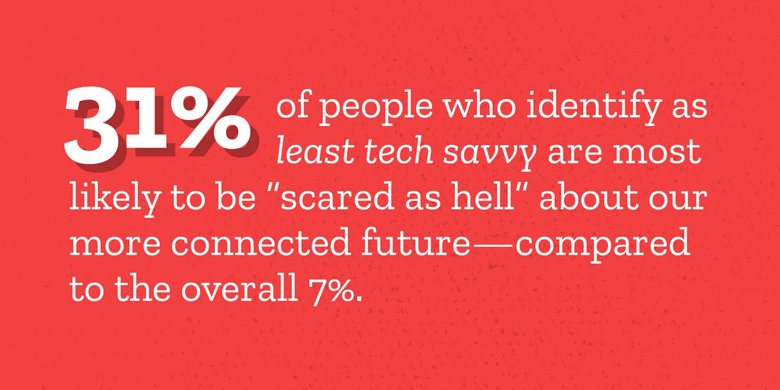 4 the world is pretty evenly divided between fear and optimism for a more connected future