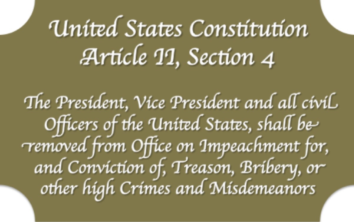 Image result for Constitution impeachment