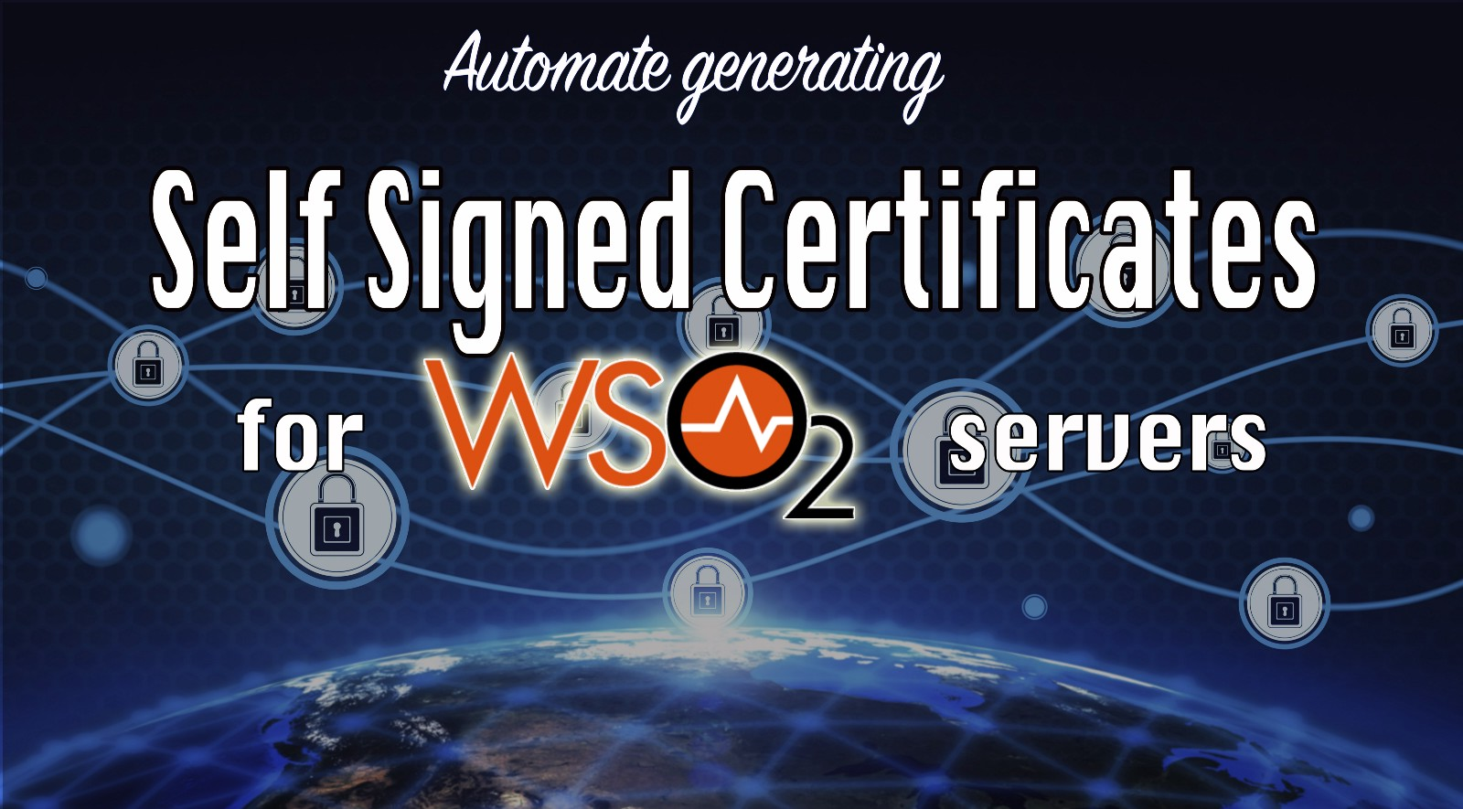 Exchanging Self Signed Certificates For Wso2 Servers