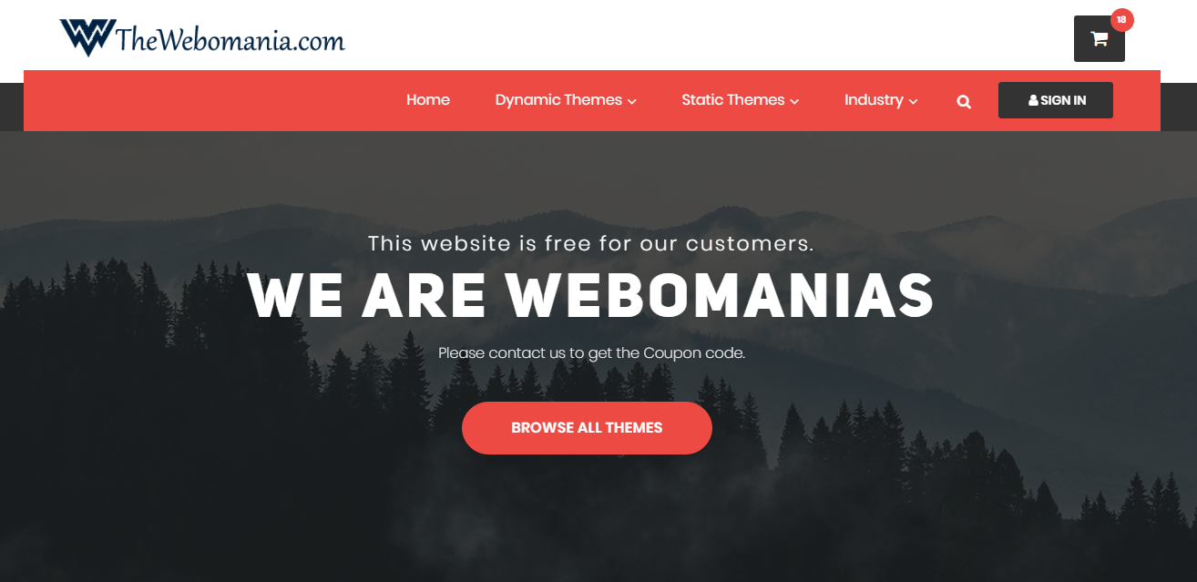 free dating website themes