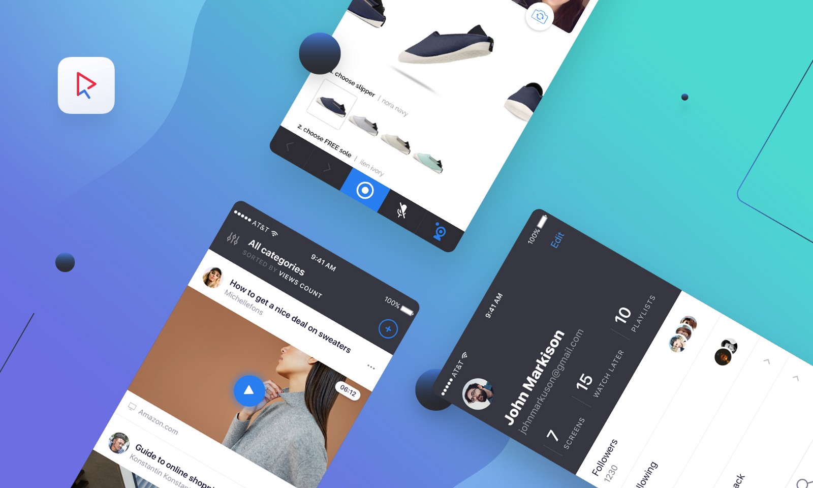 Screenlife App — a UI/UX case study – UX Collective