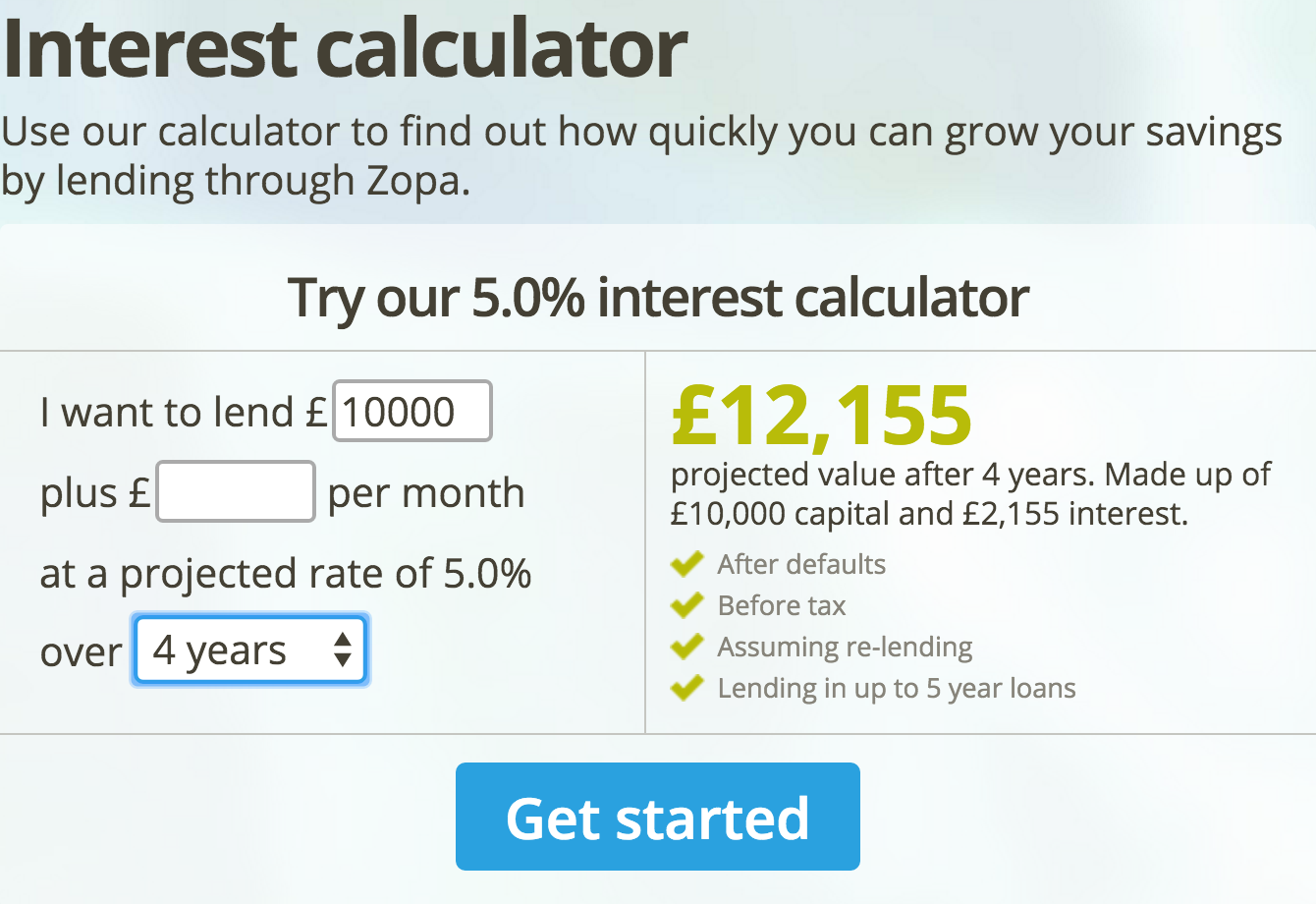 compound interest v simple interest in p2p lending orca money medium