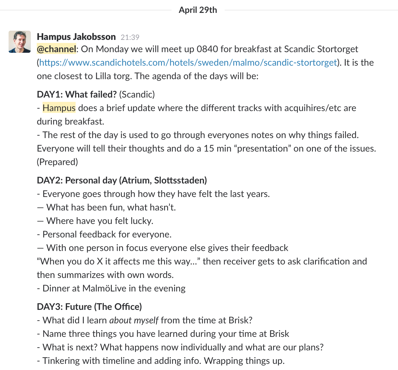 How We Debriefed When Our Startup Folded Thinking About Startups