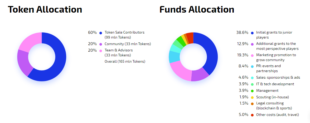 Image result for token allocation tokenstars platform blockchain