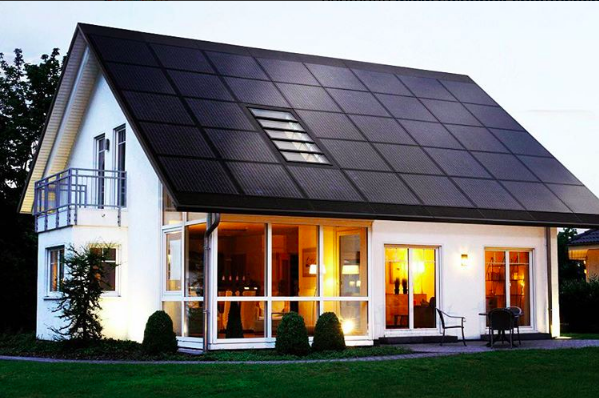 Elon Musk has plans for Solar City ☀ to build a solar roof for