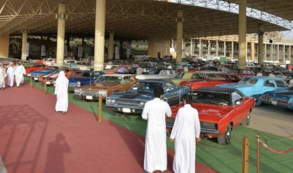 International Appeal Qassim Heritage And Classic Cars Festival - American heritage car show