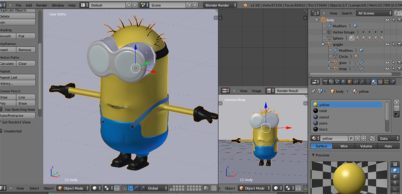 Blender  free, open source, great for asset creation, popular with indie  game community
