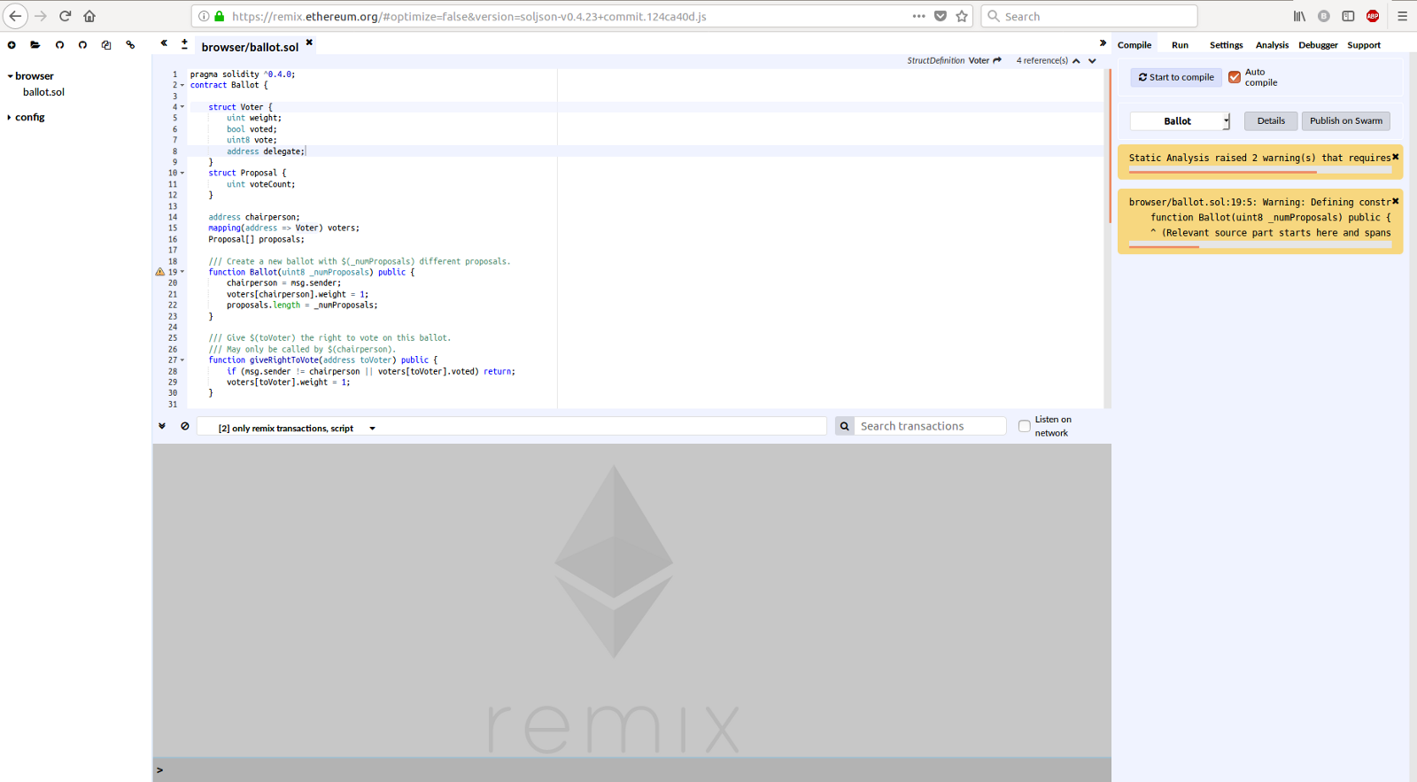 Ethereum Refund Writing Contracts In Ethereum
