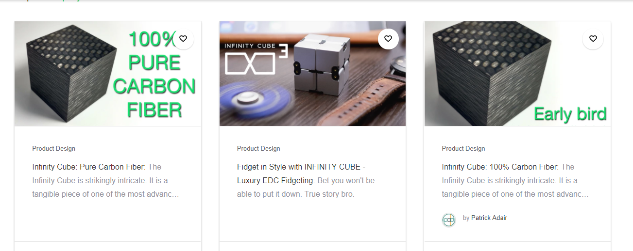 infinity cube 3. b: include indiegogo: no related products infinity cube 3