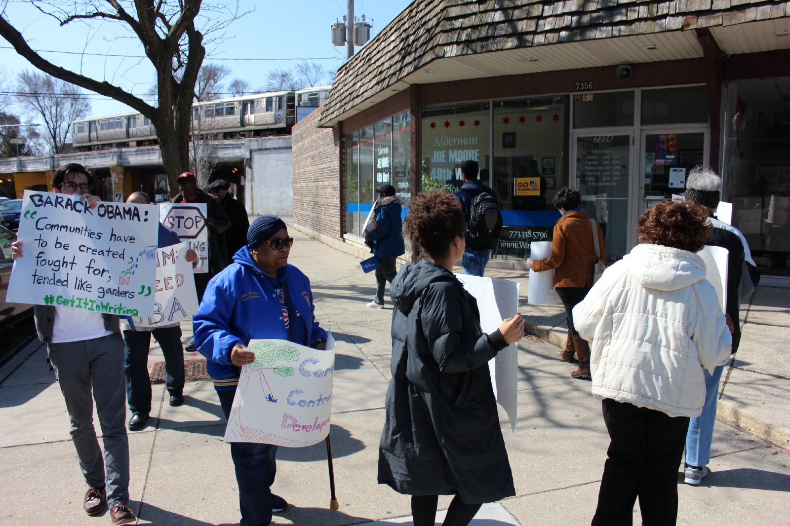 South Siders Take Fight For Obama Library Benefits Agreement To