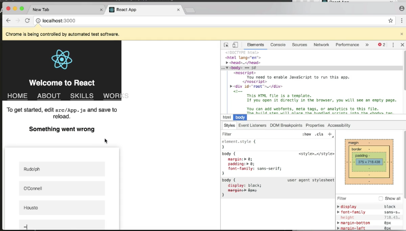 Testing your React App with Puppeteer and Jest
