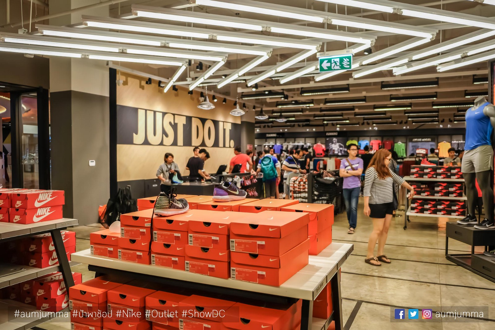 nike outlet show dc 2018