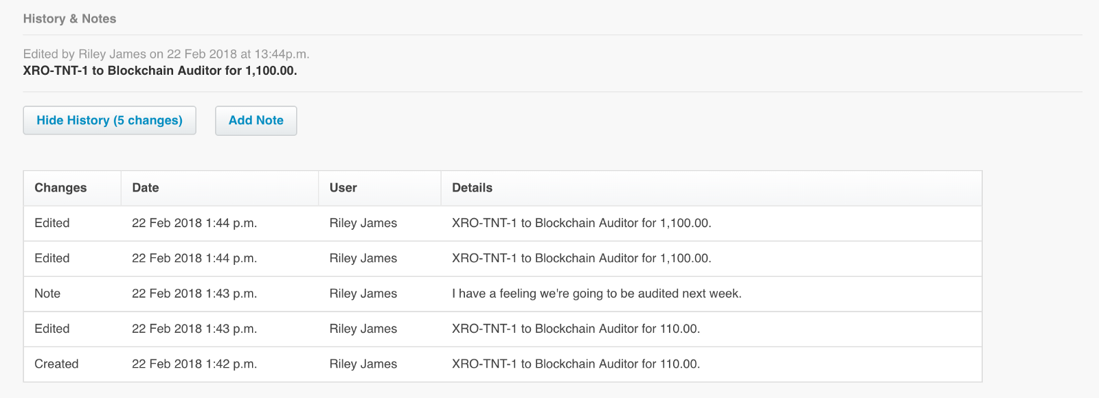 Creating An Immutable Audit Trail On The Blockchain With Xero Tierion