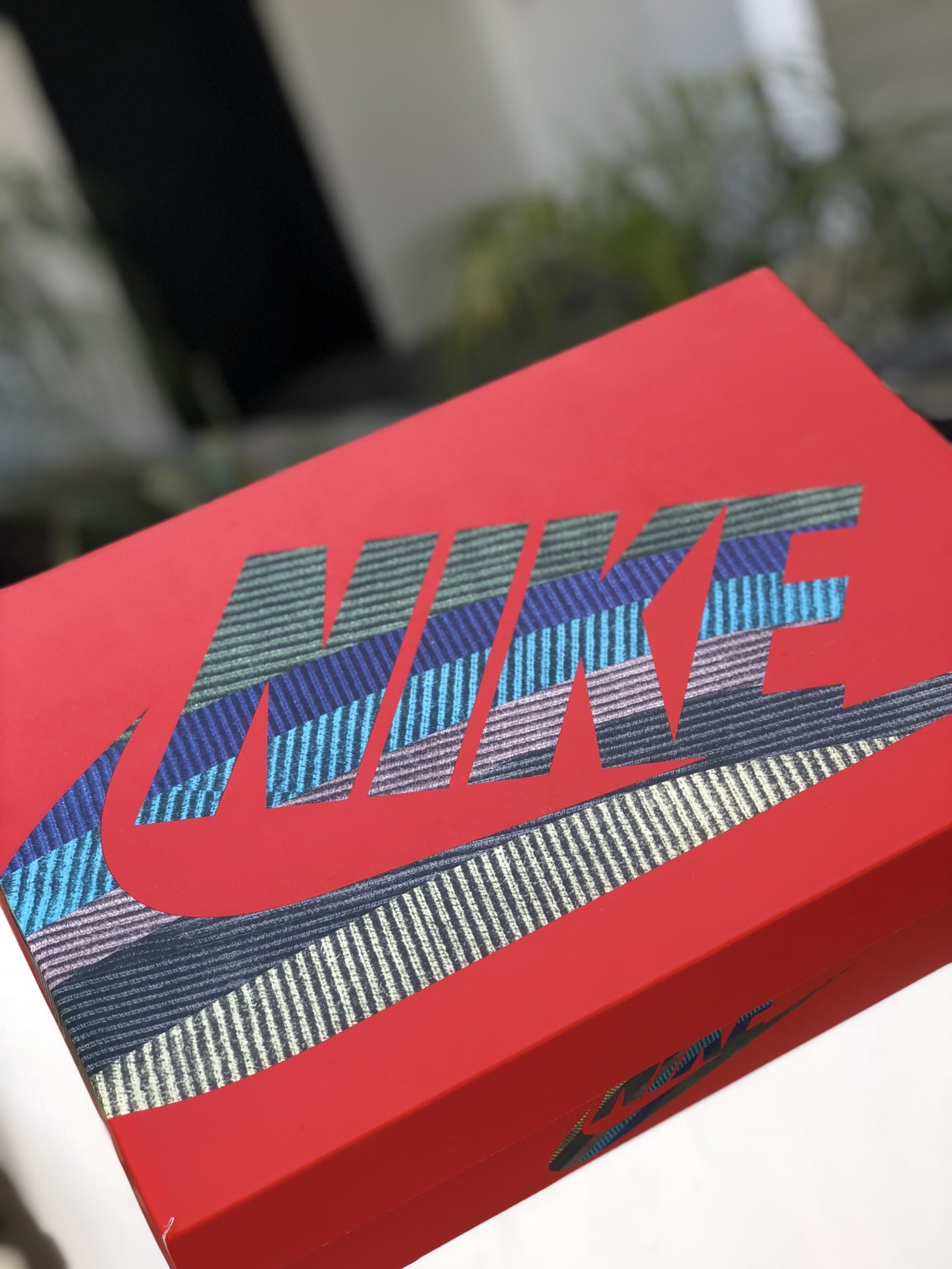 finest selection 87fce b2310 The design of the box is made to match with the sneaker. The base color of  the box is the typical red Air Max box. The Nike swoosh logos on this box  ...