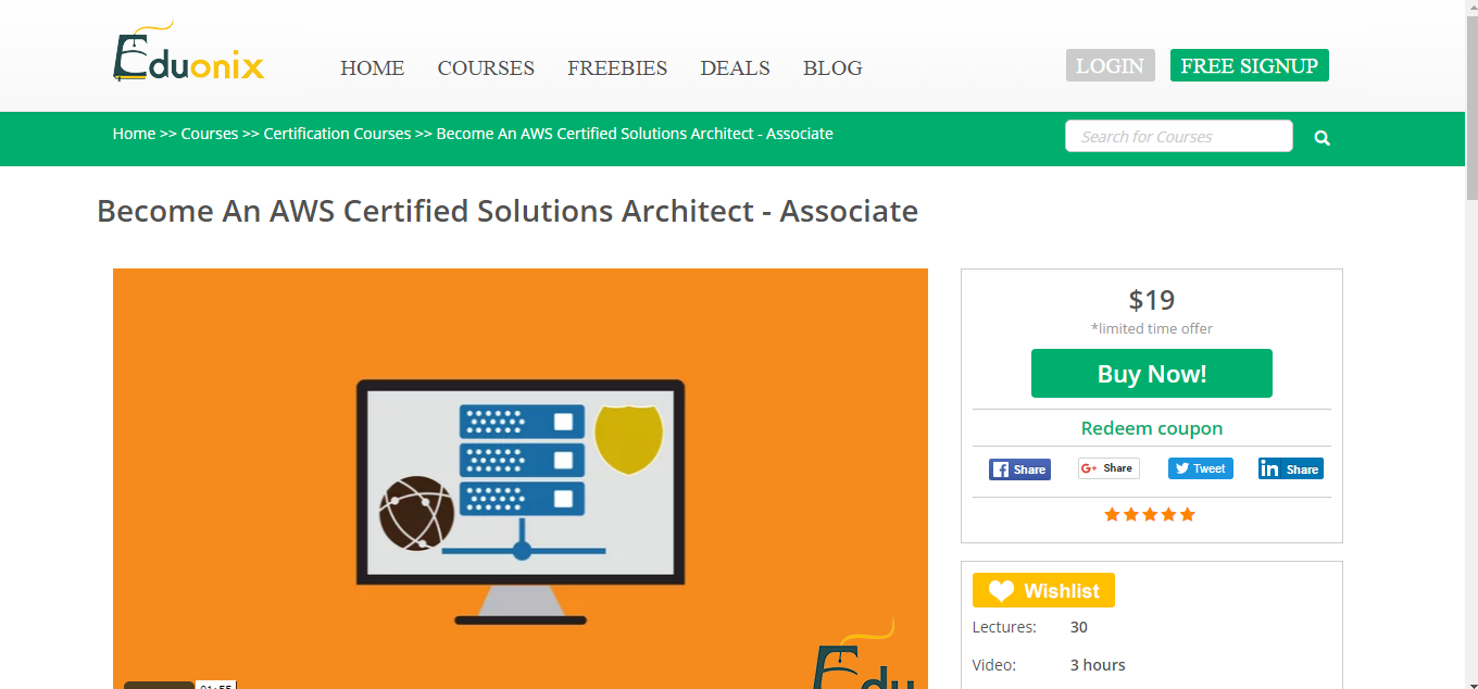 6 resources to prepare for the amazon aws certification exam this course by eduonix is a good course for anyone who is looking to take the solutions architect associate exam the course breaks down the core 1betcityfo Image collections