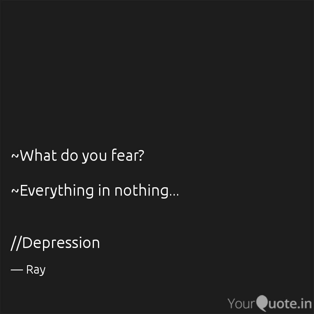 Depression Quote 8 Quotes On Depression That Will Give You Goosebumps
