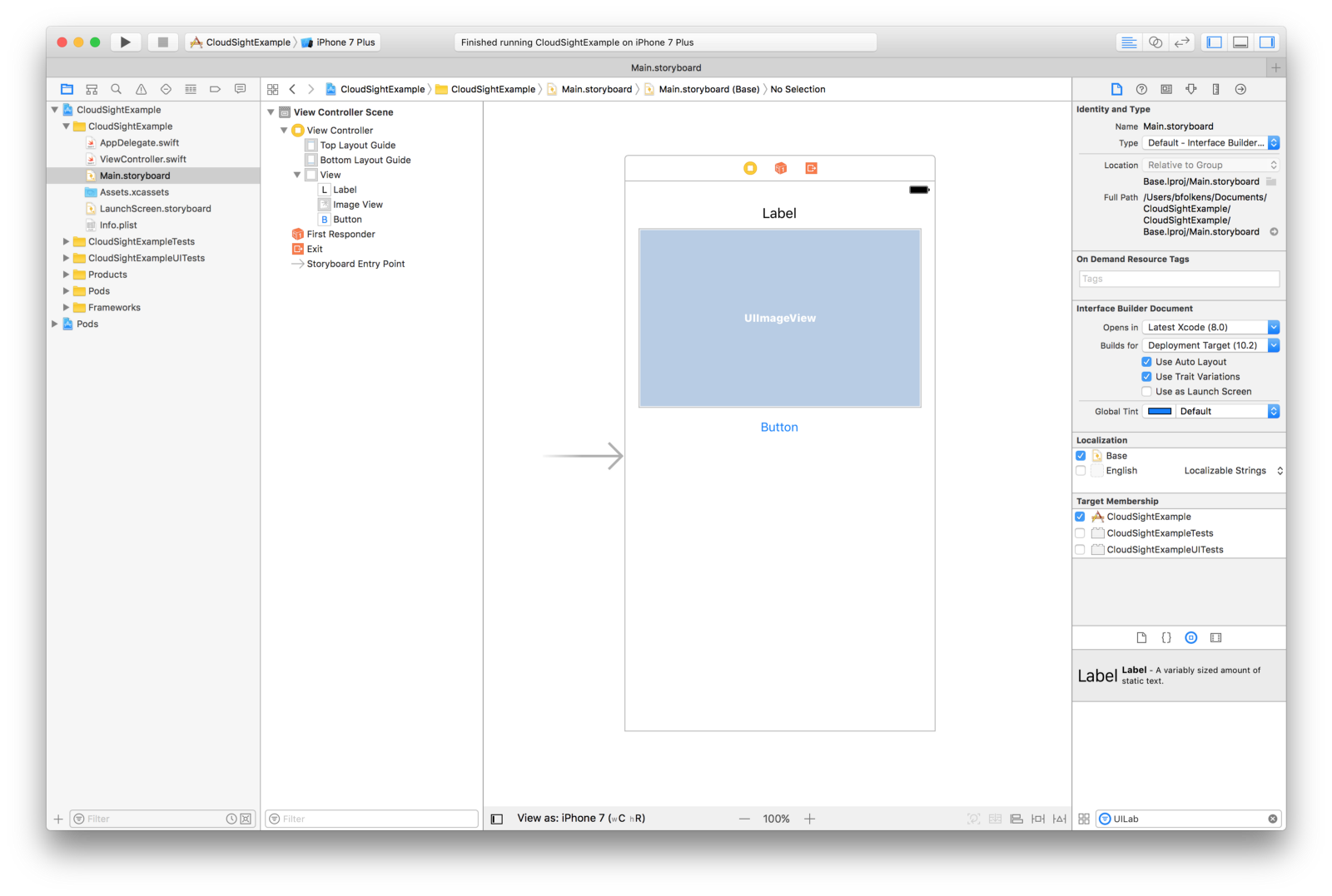 "How to Make Your iOS App ""See"" – CloudSight"