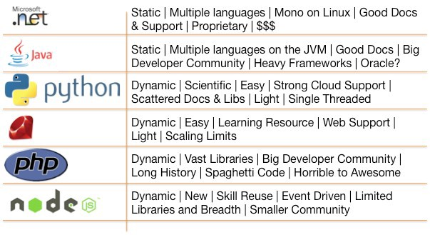 Choosing the Right Programming Language for Your Startup