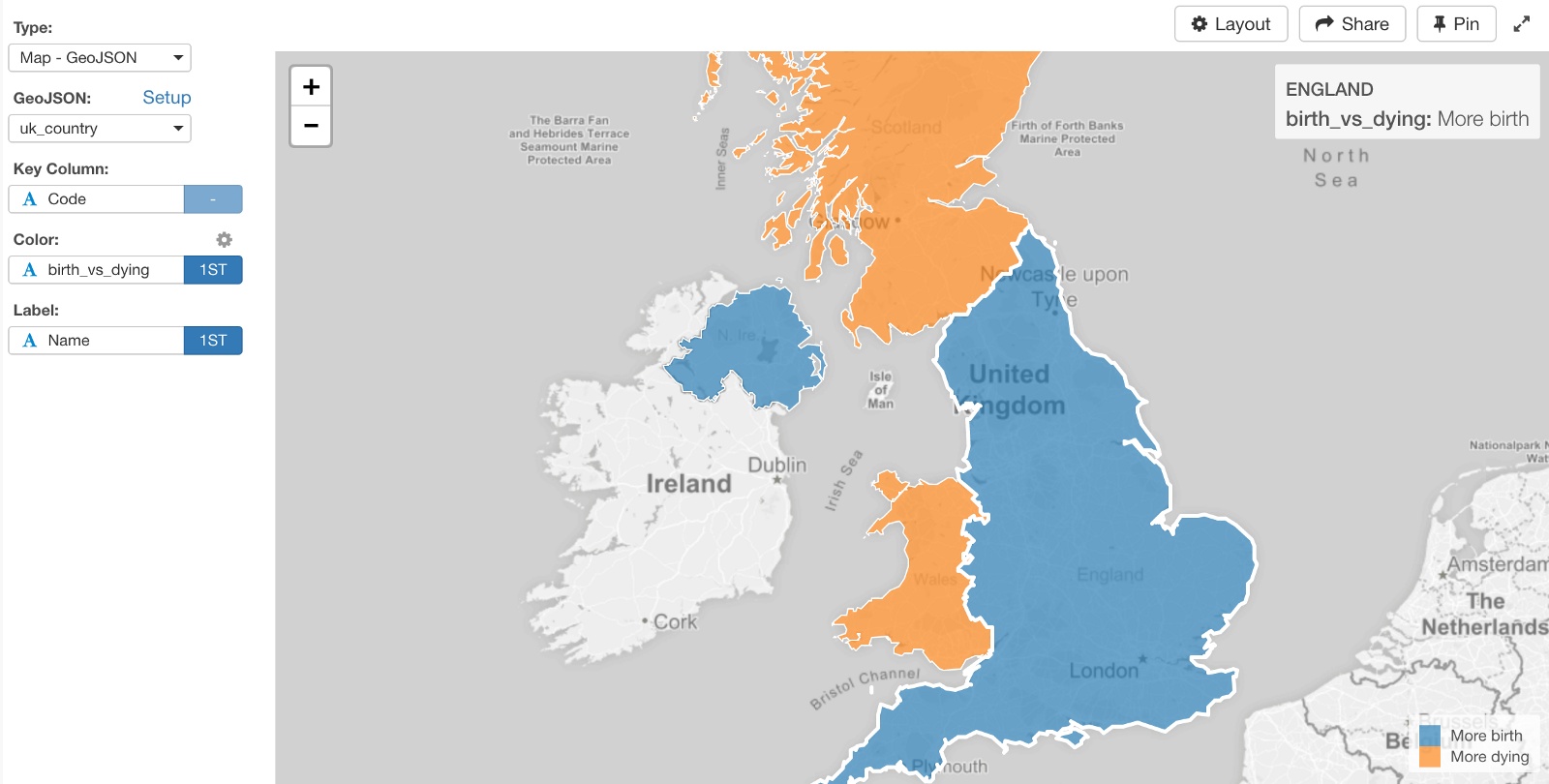 Making Maps For Uk Countries And Local Authorities Areas In R