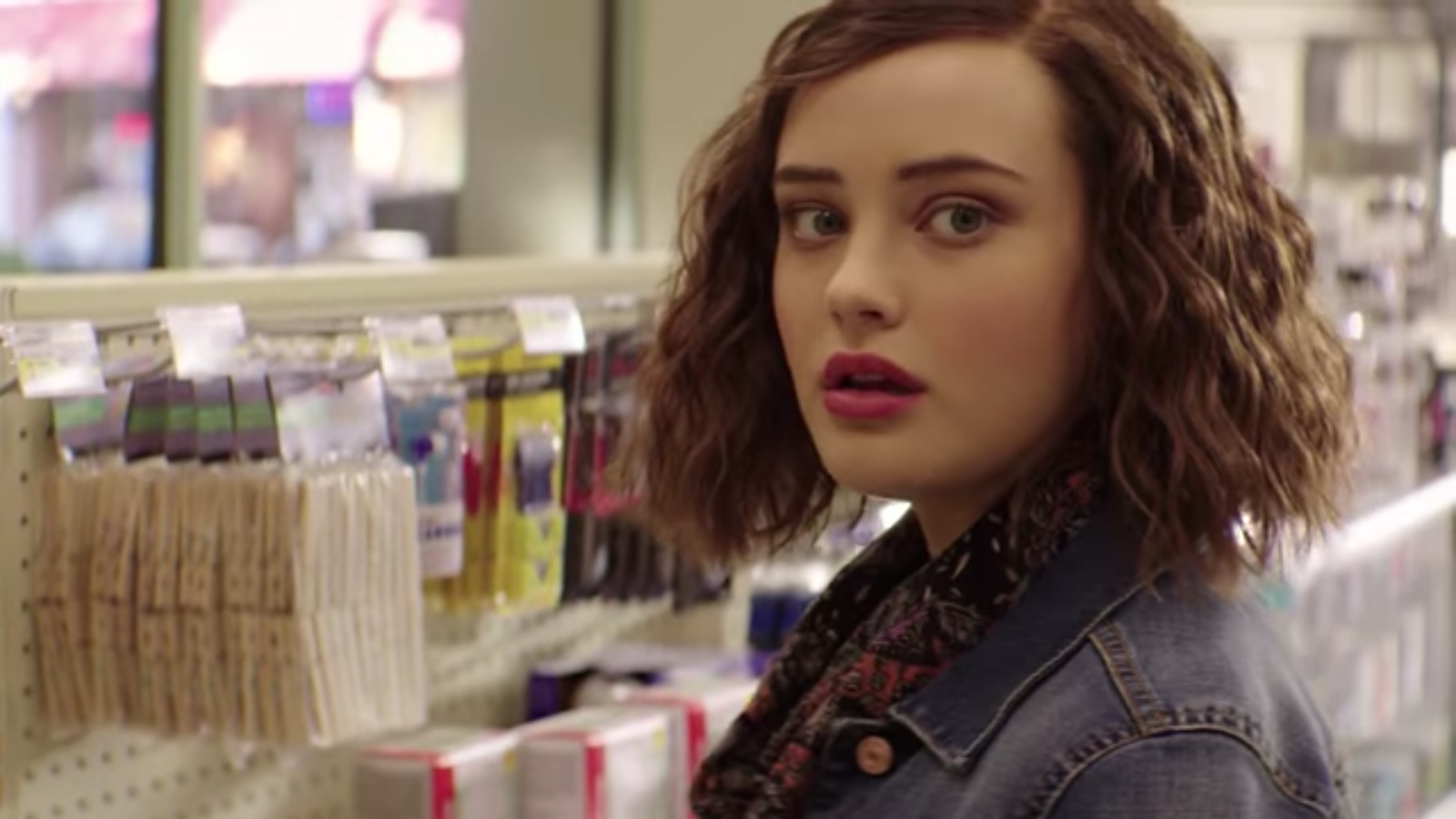 Image courtesy em the baker this image is for representation purpose - Katherine Langford As Hannah Baker Image Courtesy Of Youtube