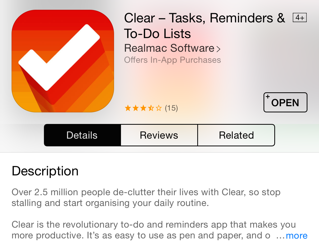 how to write an app description for iphone