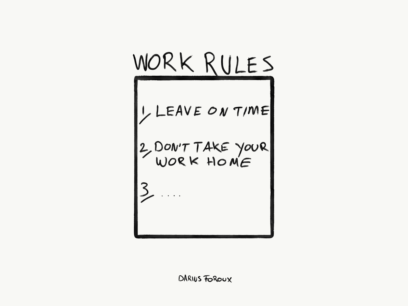 Leave The Office On Time And Donu0027t Take Your Work Home