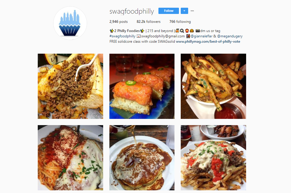 Top 25 foodporn accounts on instagram sueli mezz medium philadelphia food lovers should start following swagfoodphilly on instagram as they present the best foods that can be tasted in the city forumfinder Choice Image
