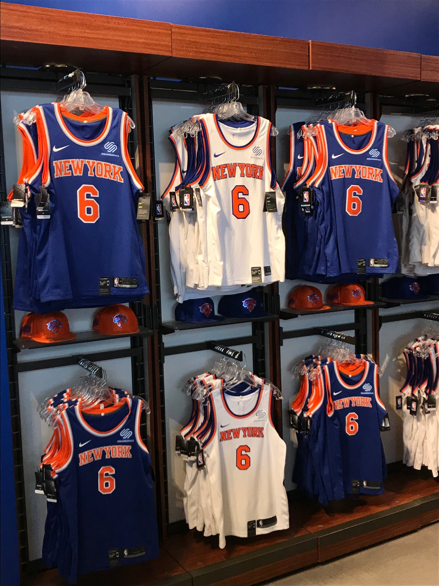 0b2c1b3b8 Knicks reveal Squarespace-sponsored jerseys – The Outside Game