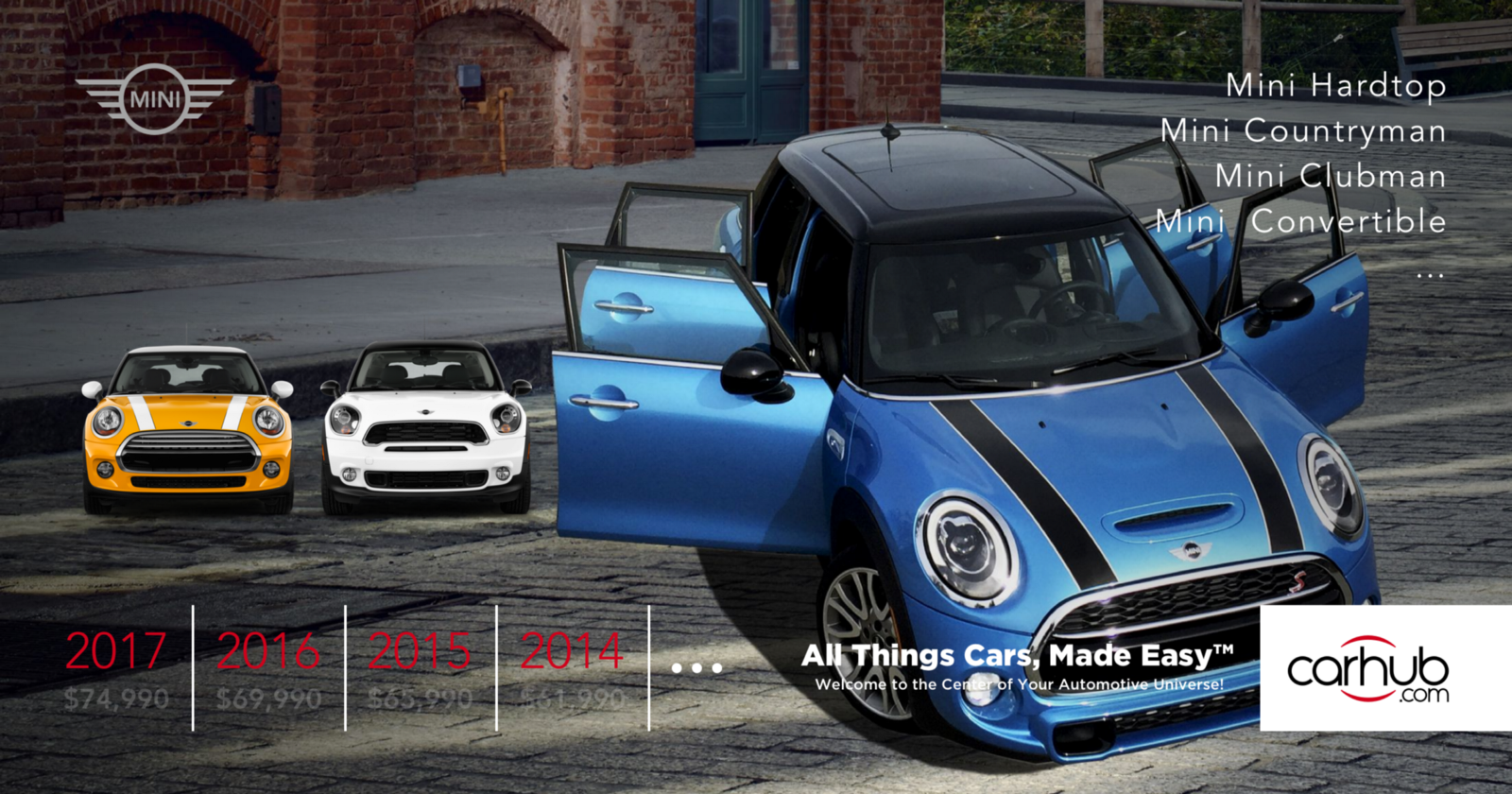 All Mini Car Models Carhub Medium