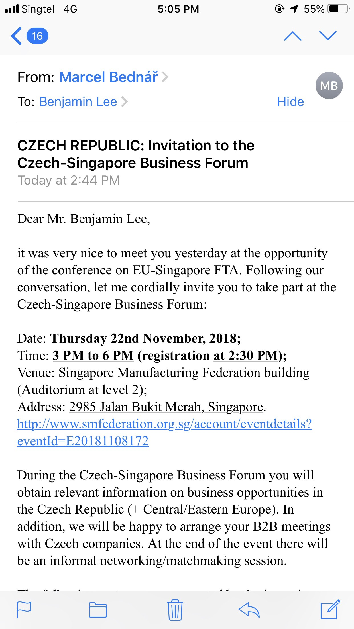 Matchmaking Singapore forum