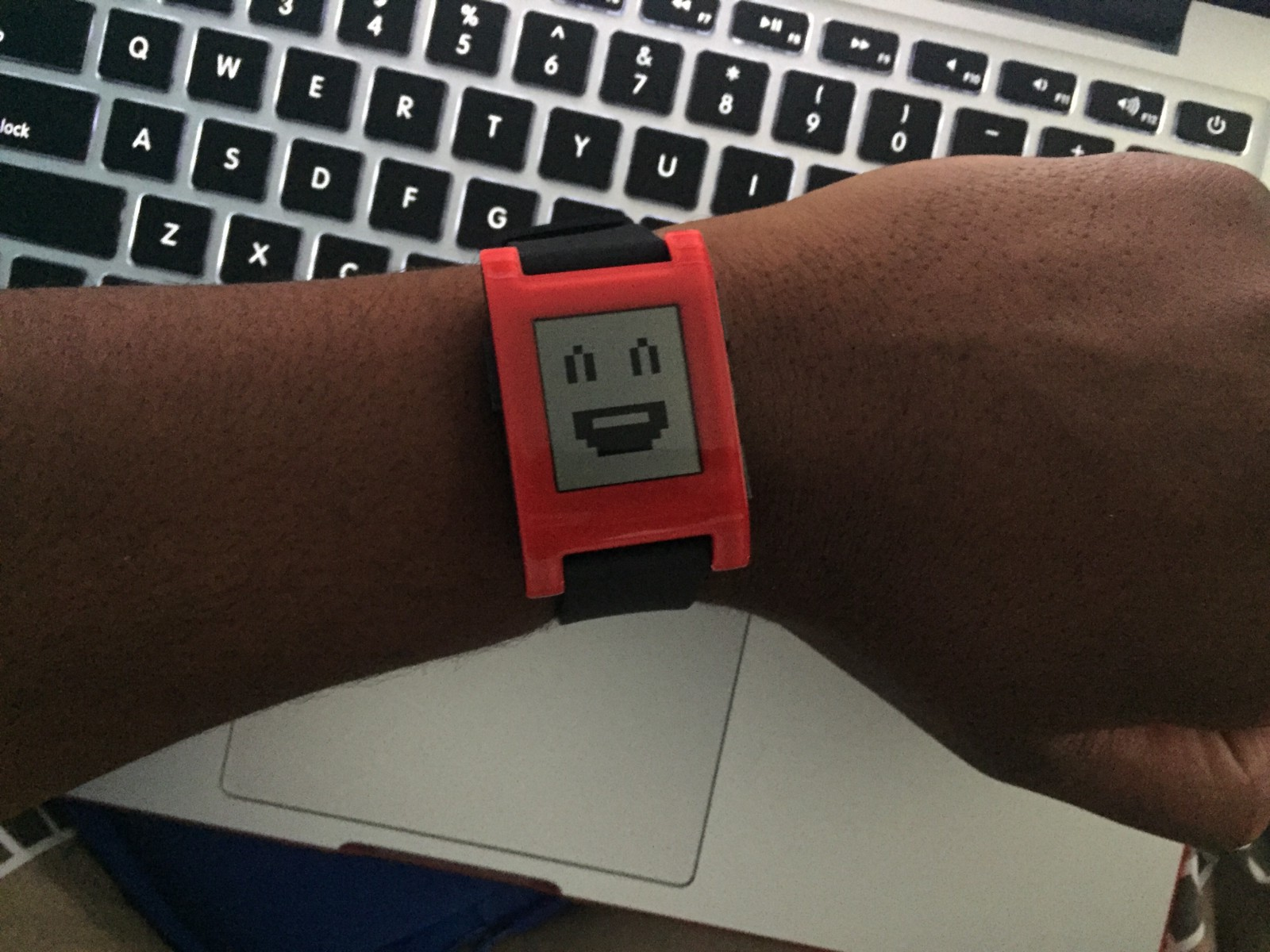 I Cancelled My Kickstarter Pledge For The Pebble Time Last Weekand Smartwatch Red So In An Impulsive Motion Purchased Original From Best Buy Which Was On Sale 89 Just To See How Much A Would Impact Life