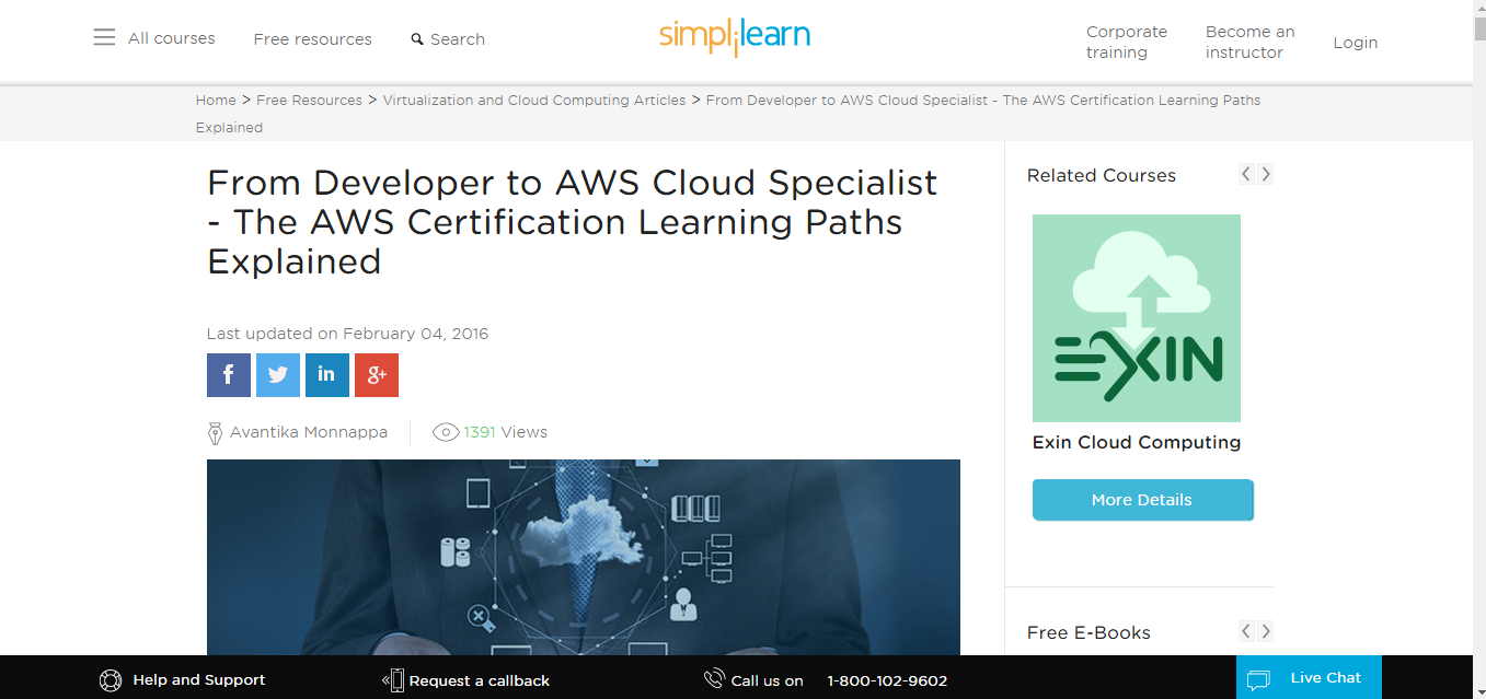 6 resources to prepare for the amazon aws certification exam a good guide when you start preparing for the exam the website starts at the very beginning at why should you opt for the certification the benefits of 1betcityfo Image collections