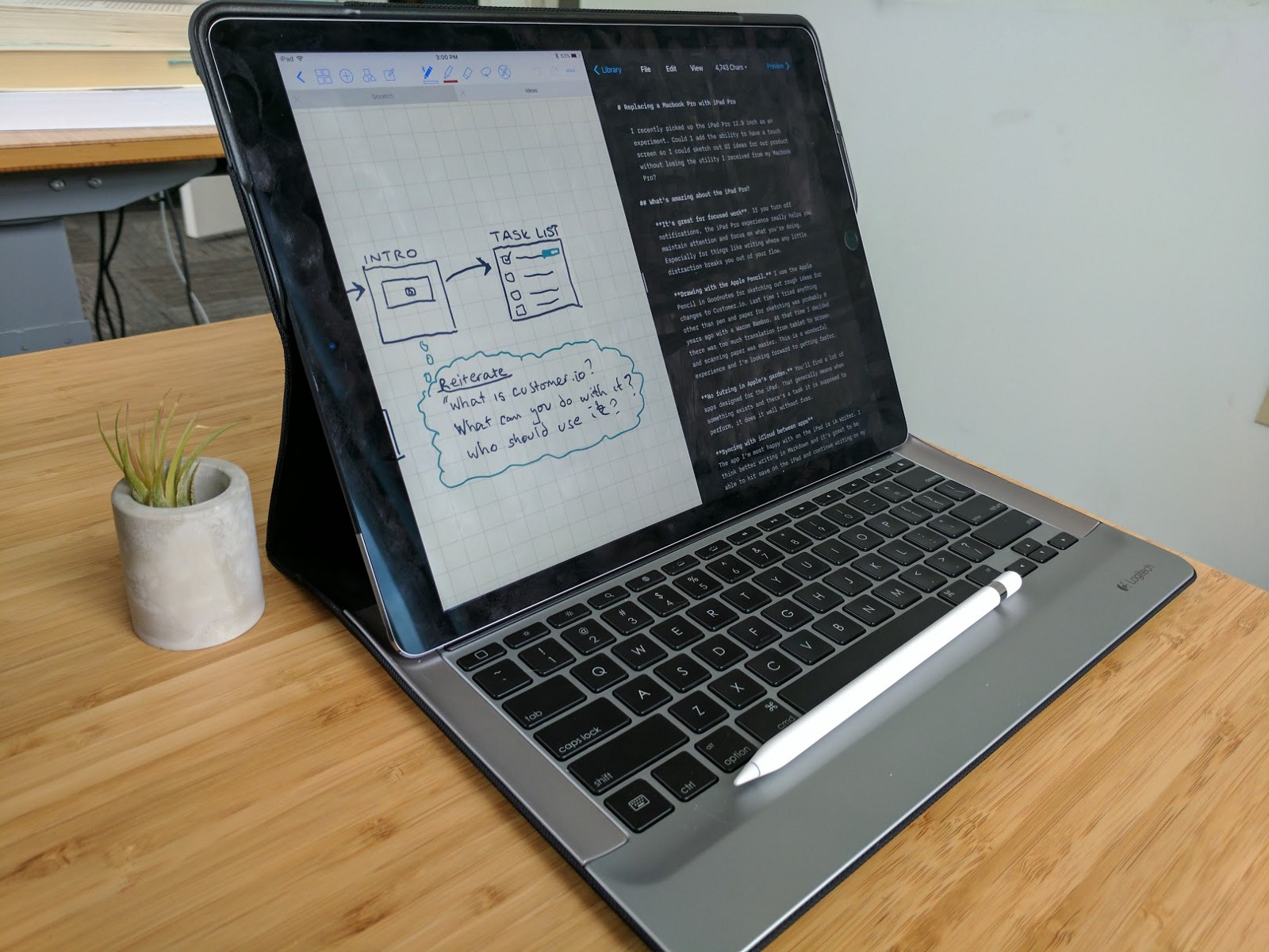 how to use an ipad macbook