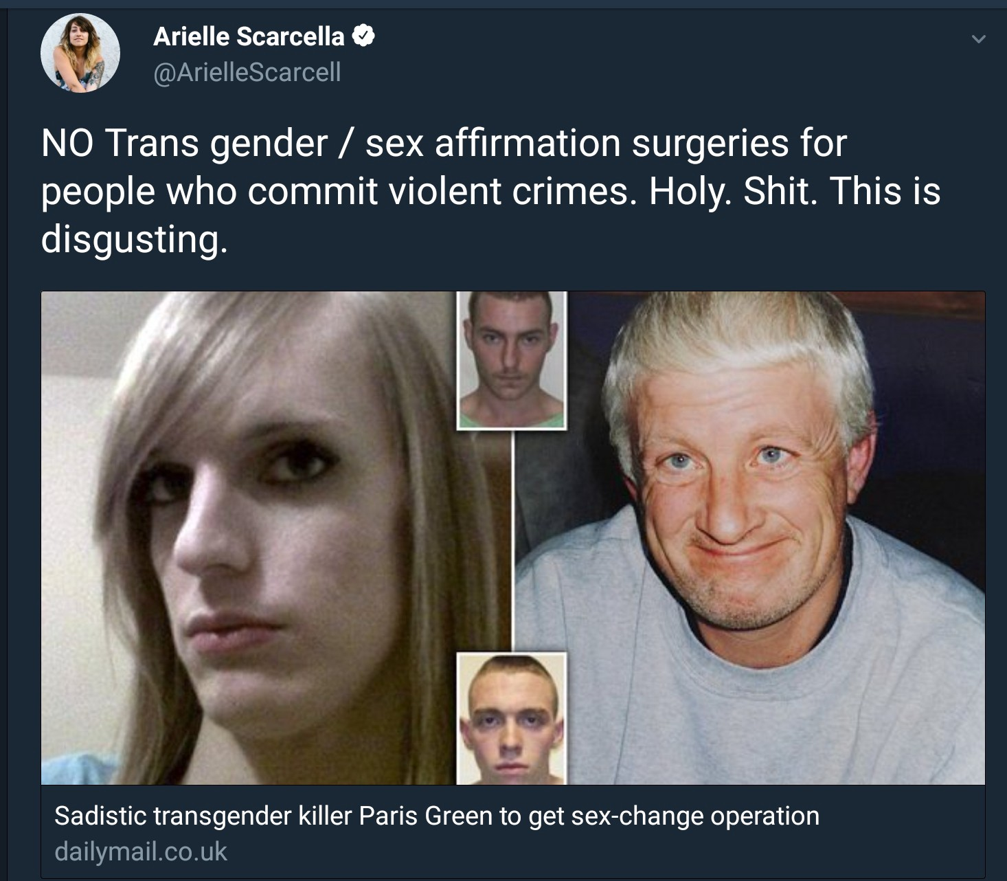 P Ng Her Nose Into The Trans Conversation And Acting Like She Was Elected Our Leader The Latest In Her Series Of Im Totally Not Transphobic But