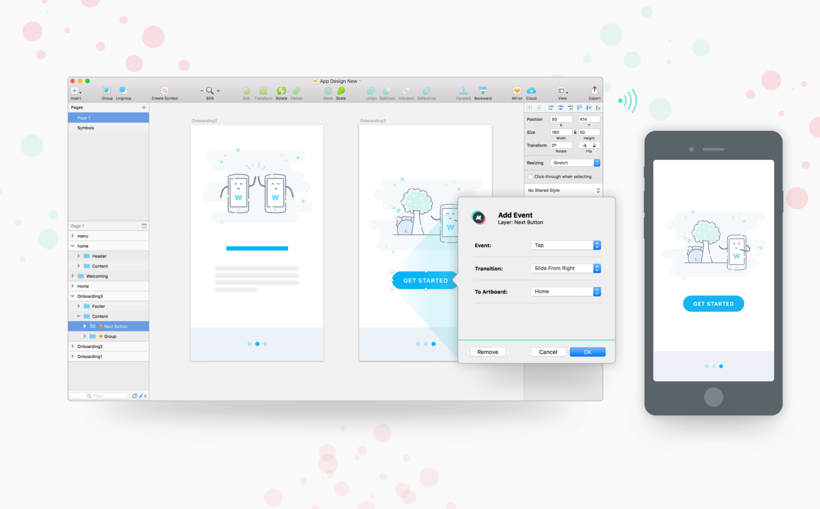Mirr.io — turn Sketch files into shareable prototypes, without ...