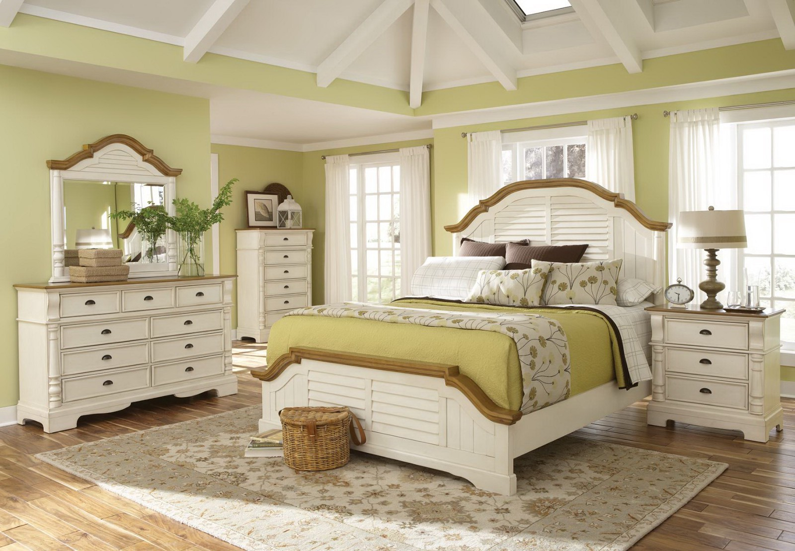 Pros and cons of a white bedroom dior furniture nyc medium - White country style bedroom furniture ...