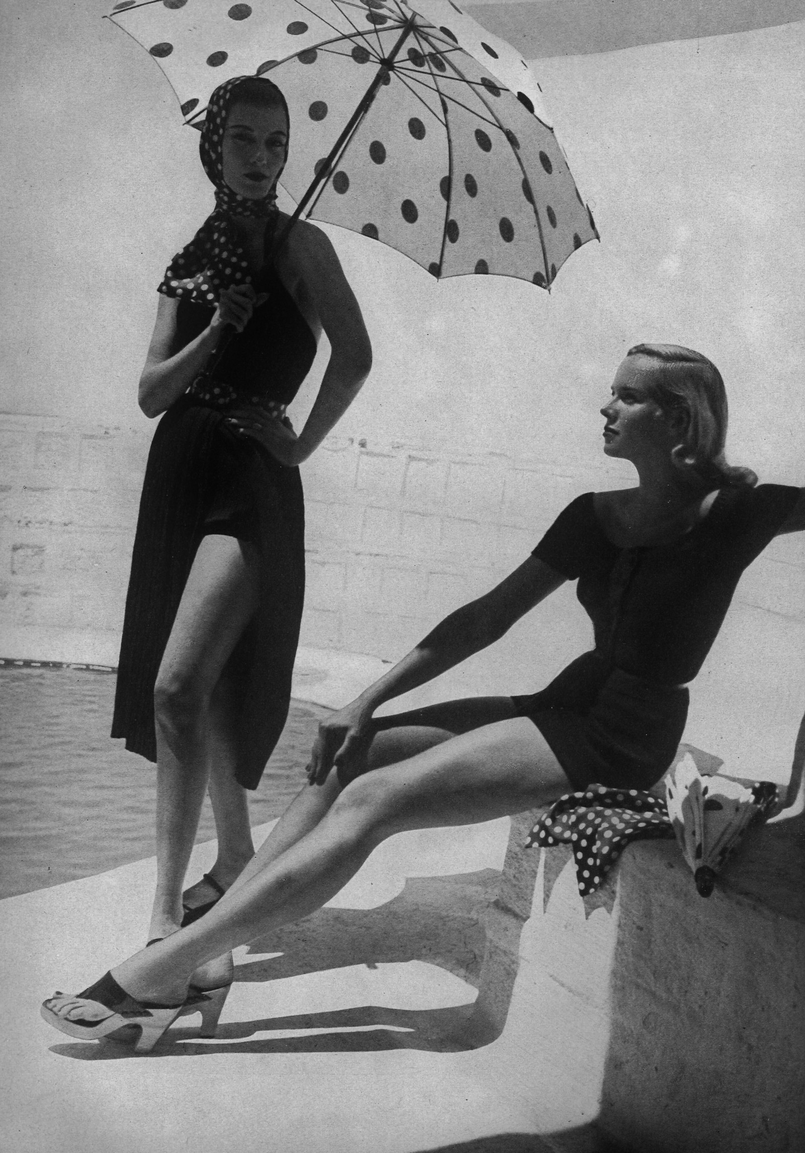Photo by toni frissell for harpers bazaar 1952