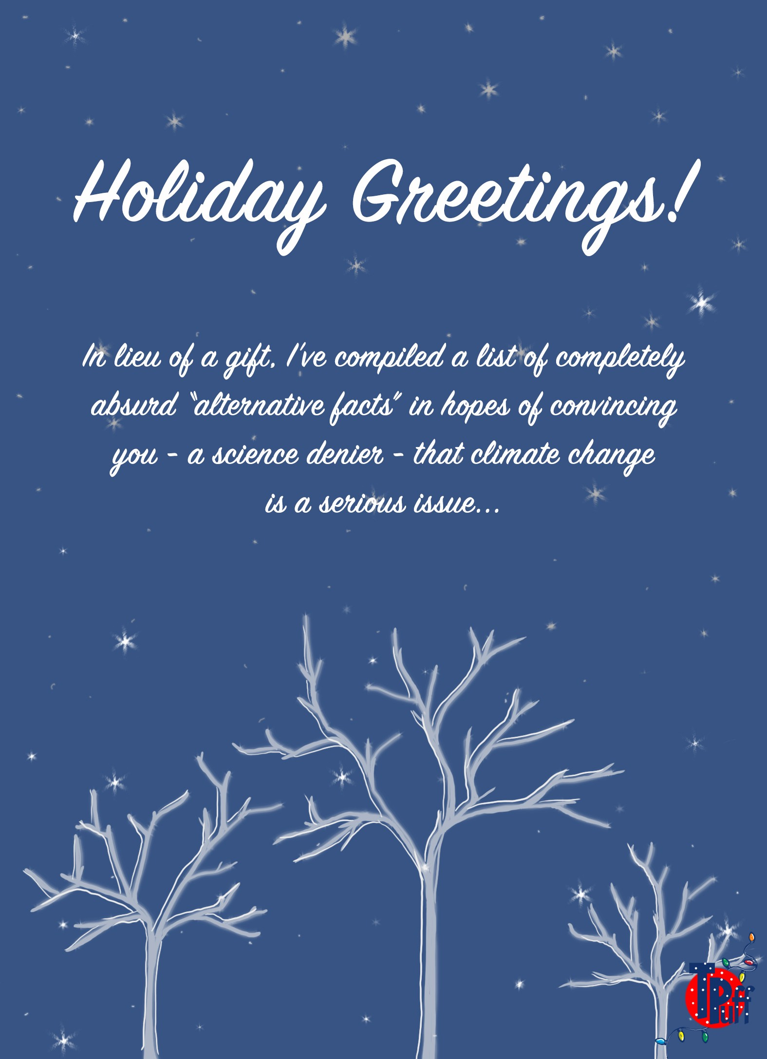 Festive cards for the right wing nut on your holiday list of course if youre not into holiday cards or just dont want to send mean things to people because youre a nice person whos trying to make the world a kristyandbryce Gallery